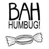Woodware - Bah Humbug! - Clear Magic Stamp Set - JGS197
